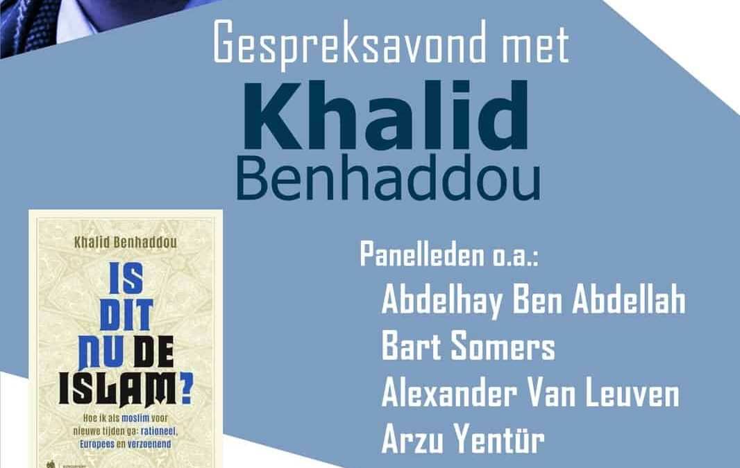 Gespreksavond met K. Benhaddou op 30 november 2016